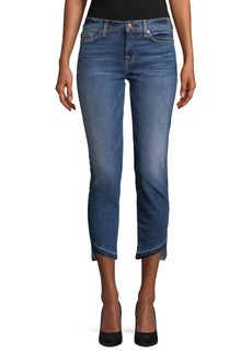 7 For All Mankind Rox Released Hem Ankle Jeans