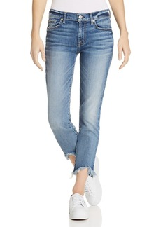7 For All Mankind Roxanne Ankle Straight Jeans in Canyon Ranch