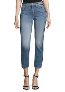 7 For All Mankind Roxanne Faded Ankle Jeans