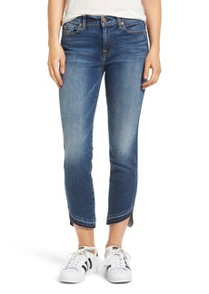 7 For All Mankind® Roxanne Released Hem Ankle Skinny Jeans (Seratoga Bay)