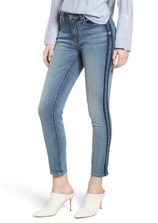 7 For All Mankind® Roxanne Shadow Stripe Ankle Jeans (Venice Sea)