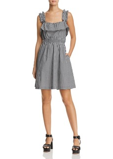 7 For All Mankind Ruffled Gingham Sundress