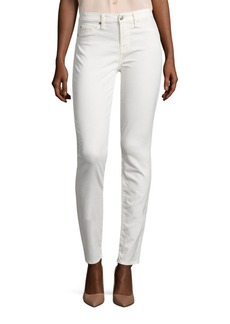 7 For All Mankind Sateen Skinny Ankle Jeans