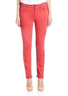 7 For All Mankind Sateen Skinny Jeans