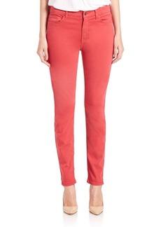 Sateen Skinny Jeans