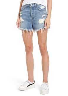 7 For All Mankind® Scallop Hem Shorts (Vintage Wythe)