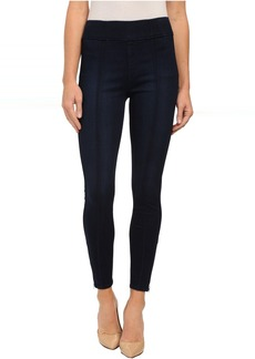 7 For All Mankind Seamed Leggings w/ Ankle Zips in Slim Illusion Luxe/Nightfall