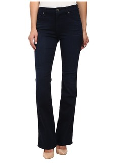7 For All Mankind Short Inseam Kimmie Bootcut in Slim Illusion Luxe Rich Blue