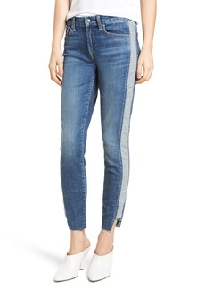 7 For All Mankind® Side Panel Inset Ankle Skinny Jeans (Mojave Dusk)