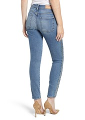 7 For All Mankind® Luxe Vintage Side Stripe High Waist Ankle Skinny Jeans (Muse)