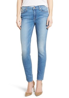7 For All Mankind® Skinny Jeans (Adelaide Bright Blue)