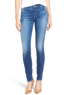 7 For All Mankind® Skinny Jeans (New Castle Broken Twill)
