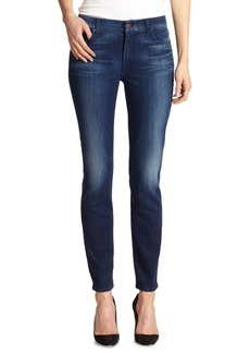 7 For All Mankind Skinny Midrise Jeans
