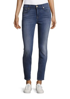 7 For All Mankind Slim-Fit Ankle-Length Jeans