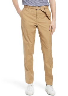 7 For All Mankind Slim Fit Belted Chino Pants