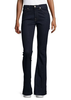 7 For All Mankind Slim-Fit Flared Jeans