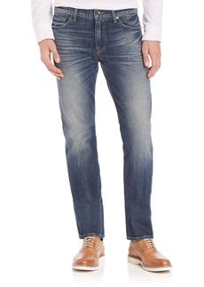7 For All Mankind Slim Straight Jeans