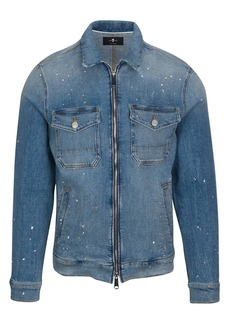 7 For All Mankind® Slim Fit Stretch Denim Jacket