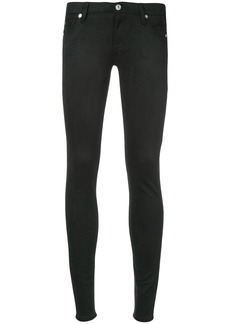 7 For All Mankind slim fit trousers - Black