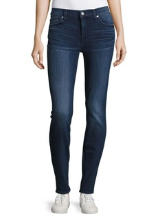 7 For All Mankind Slim-Fit Whiskered Cigarette Jeans