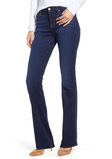7 For All Mankind® 'Slim Illusion Luxe - Kimmie' Bootcut Jeans (Luxe Bright Rinse)