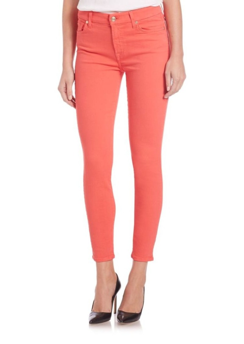 7 For All Mankind Slim Illusion Skinny Jeans