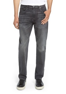 7 For All Mankind® The Straight Slim Straight Leg Jeans (Vicious Grey)