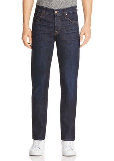 7 For All Mankind Airweft Straight Fit Jeans in Revelry