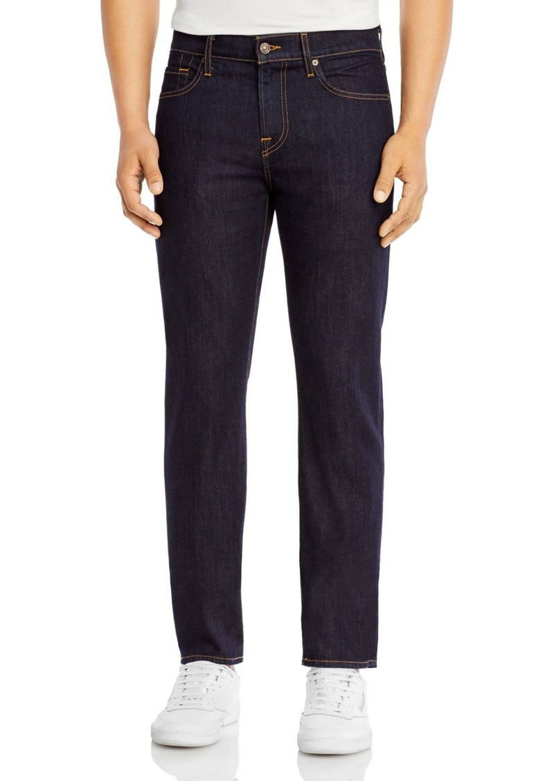 7 For All Mankind Slimmy Slim Fit Luxe Performance Jeans in Dark And Clean