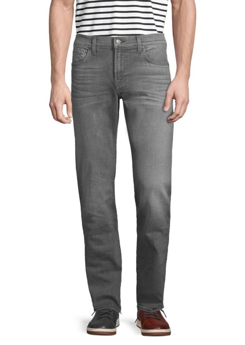 7 For All Mankind Slimmy Slim-Straight Fit Jeans