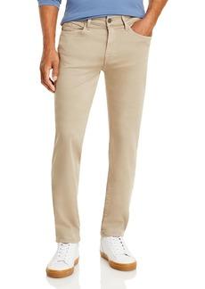 7 For all Mankind Slimmy Slim-Straight Jeans in Light Khaki