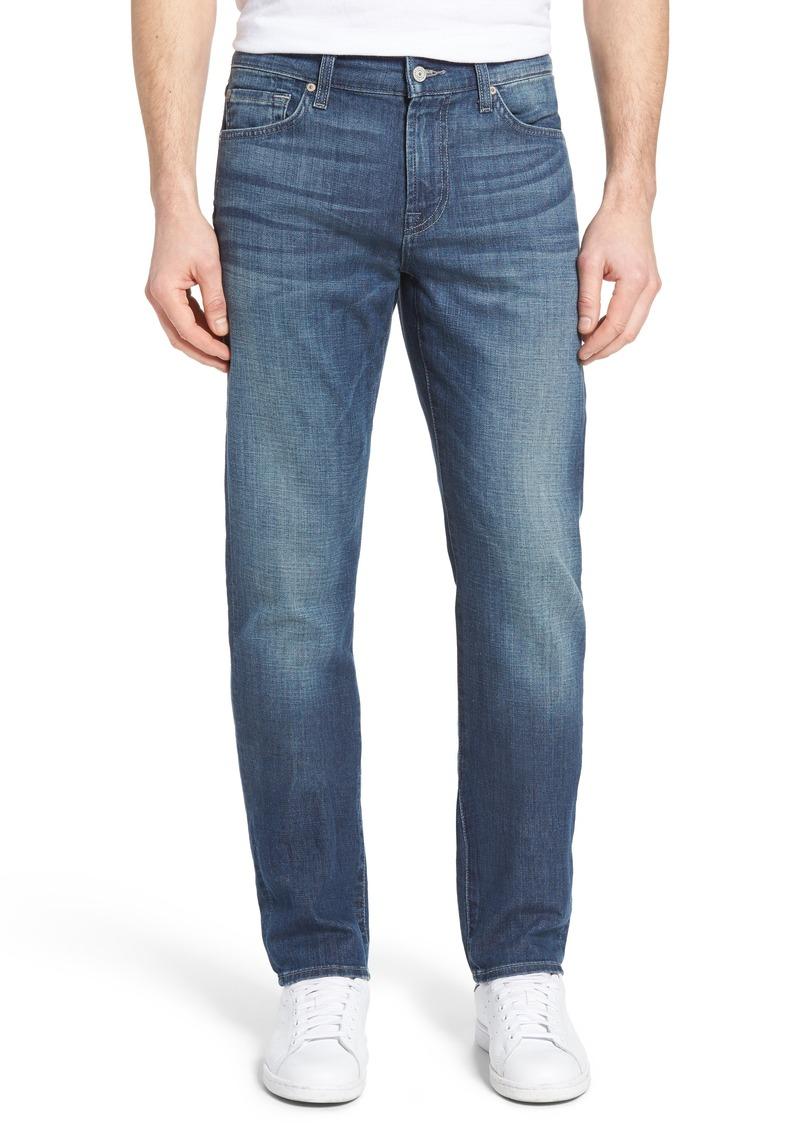 7 for all mankind 7 for all mankind slimmy slim straight leg jeans saltwater jeans shop. Black Bedroom Furniture Sets. Home Design Ideas
