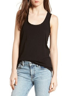 7 For All Mankind® Slub Racerback Tank
