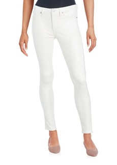 7 For All Mankind Solid Five-Pocket Jeans