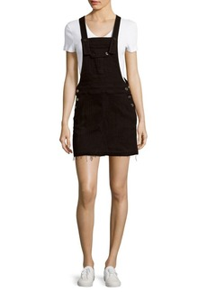 7 For All Mankind Solid Three-Pocket Overall Dress