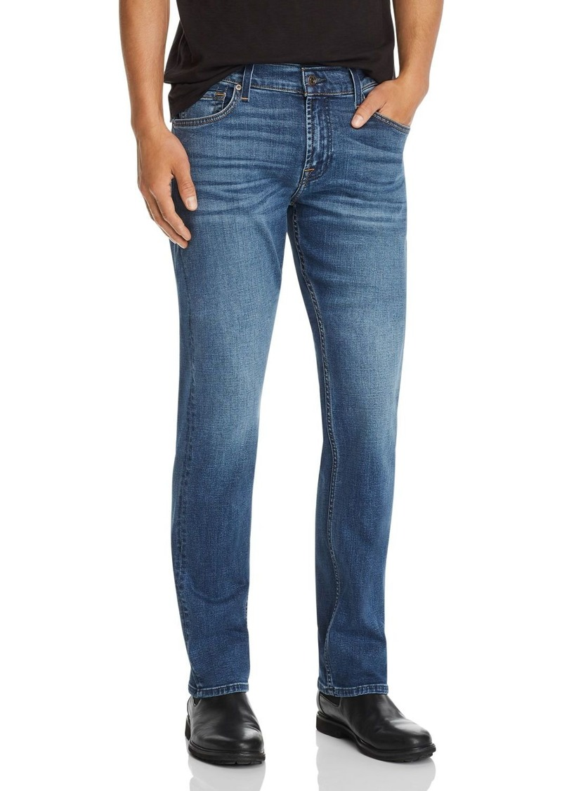 7 For All Mankind Standard Straight Fit Jeans in Panama