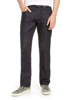 7 For All Mankind® Standard Straight Leg Jeans (Dark & Clean)