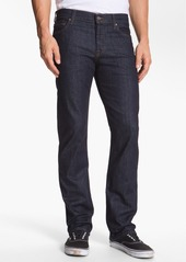 7 For All Mankind® Standard Straight Leg Jeans (Dark and Clean)