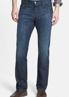 7 For All Mankind® 'Standard' Straight Leg Jeans (Los Angeles Dark)