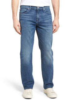 7 For All Mankind® Standard Straight Leg Jeans (Savage)