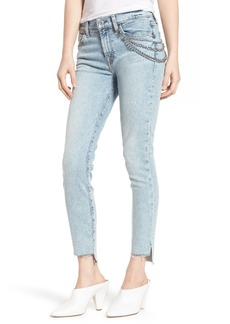 7 For All Mankind® Step Hem Ankle Skinny Jeans (Desert Springs)