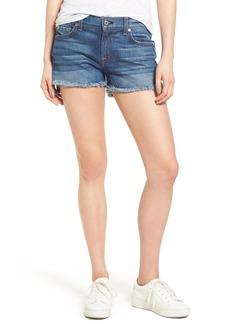 7 For All Mankind® Step Hem Denim Shorts (Bondi Beach)