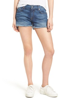 7 For All Mankind® Step Hem Denim Shorts (Bondi Beach)