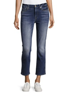 7 For All Mankind Straight-Fit Ankle-Length Jeans