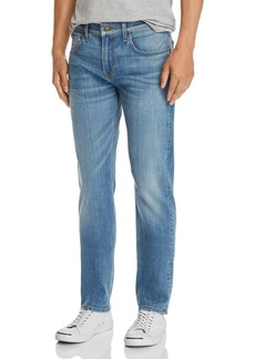 7 For All Mankind Straight Slim Fit Jeans in Traction
