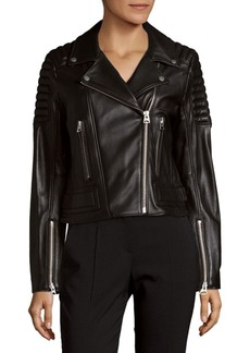 7 For All Mankind Striky Leather Jacket