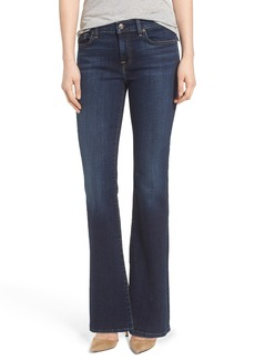 7 For All Mankind® 'Tailorless' Bootcut Jeans (Nouveau NY Dark) (Short)