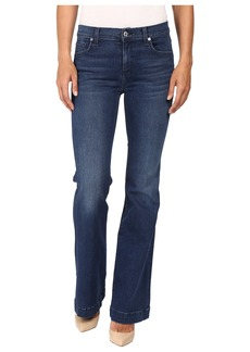 7 For All Mankind Tailorless Dojo in Slim Illusion Luxe Luminous