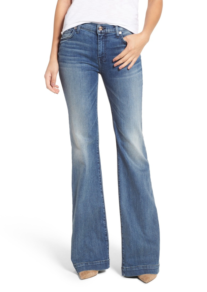 572ebf4bb7 7 For All Mankind® Tailorless Dojo Wide Leg Jeans (Wall Street Heritage)