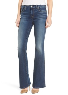 7 For All Mankind® Tailorless Flare Jeans (High Street) (Short)